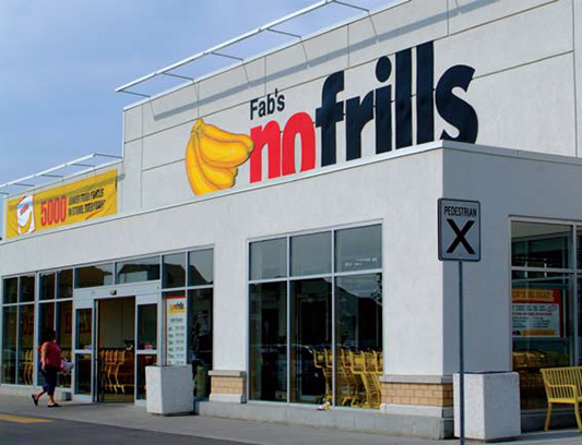 Port Union, commercial stucco for nofrills