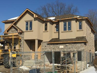 exterior stucco design Toronto