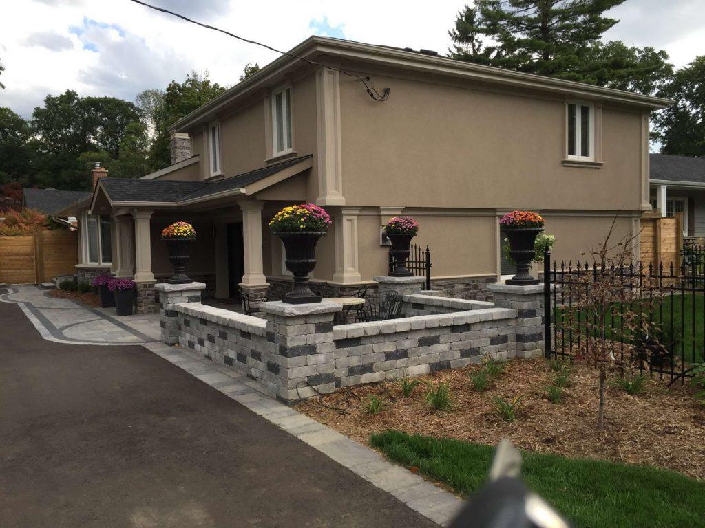 amazing custom home with stucco