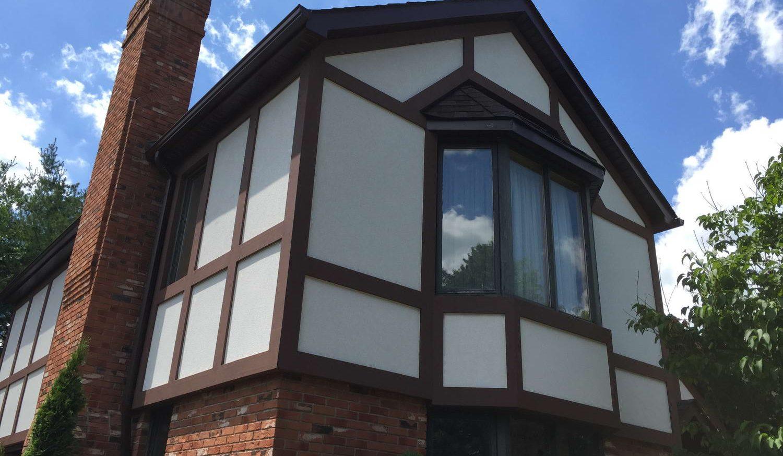 new exterior stucco