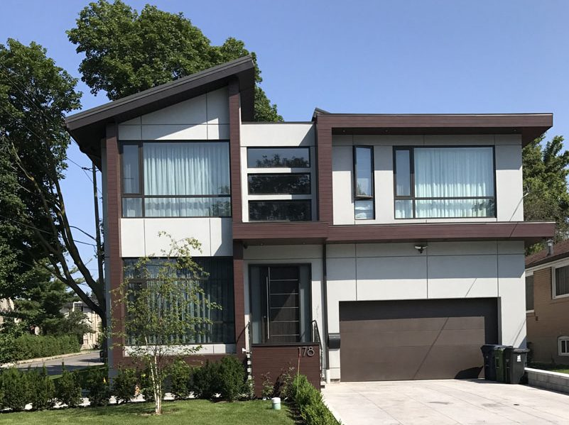 toronto modern stucco finish