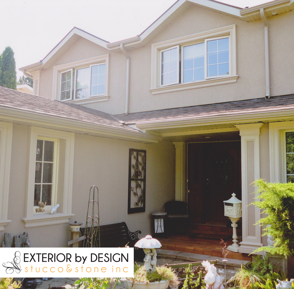 beautiful exterior stucco aurora