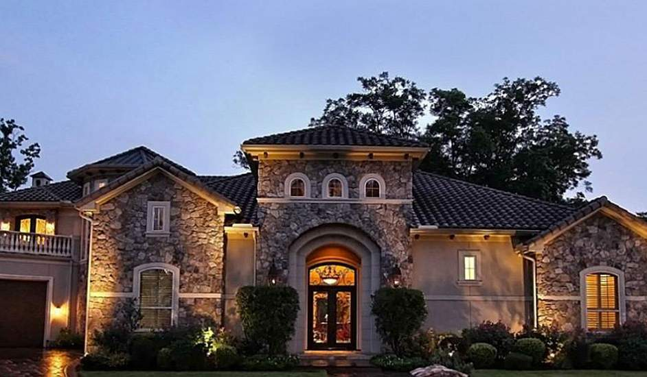 Exterior stucco design