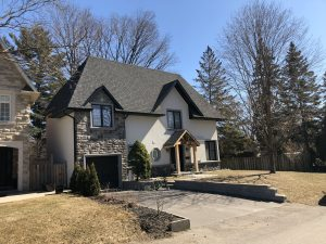 stone siding project overview