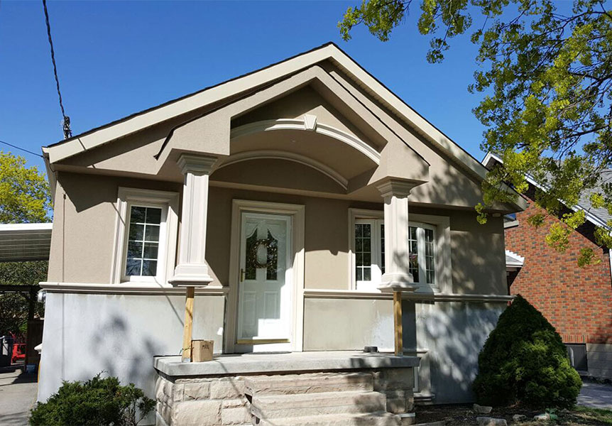 exterior stucco finishes