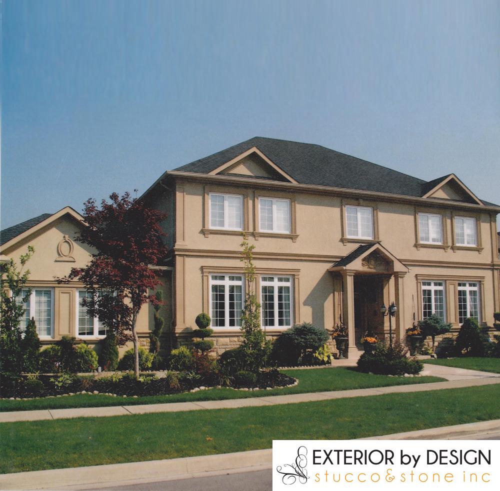 Markham Custom Home with Amazing Exterior Stucco