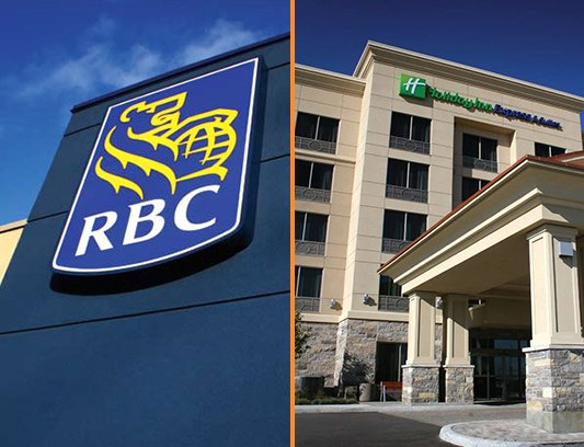 Commercial Project of RBC Bank Building Exterior Stucco Aurora