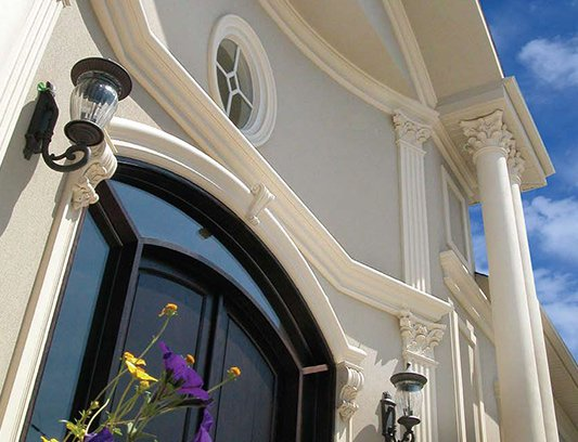 Classic House Design with Beige Stucco King City