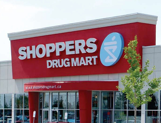 Shoppers Commercial Building Exterior Stucco Decor by Exterior by Design Woodbridge